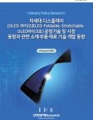 차세대 디스플레이(OLED·마이크로LED·Foldable·Stretchable· OLED마이크로) 공정기술 및 시장 동향과 관련 소재·부품·재료 기술 개발 동향