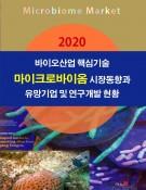 2020 바이오산업 핵심기술-마이크로바이옴 시장동향과 유망기업 및 연구개발 현황